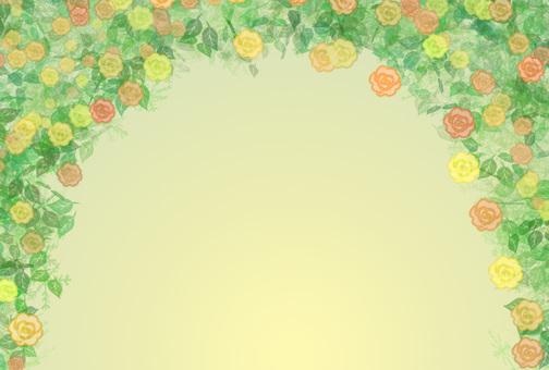 Roses Arch (Orange)