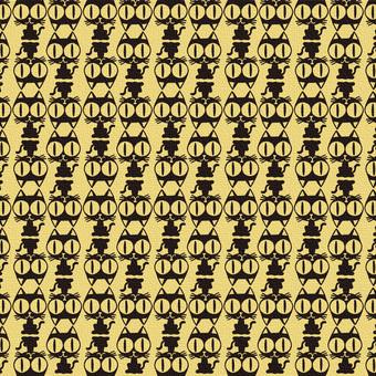 Tatami pattern of cat 034