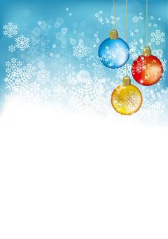 Snow Crystal Ornament ball 16