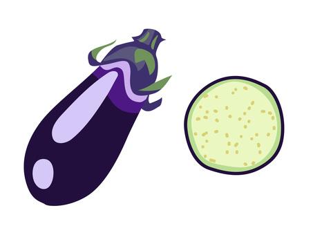 Ingredients _ Vegetable _ Eggplant _ No wire