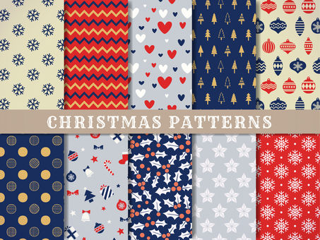 Simple Christmas pattern