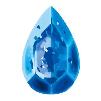 Gemstone (blue)