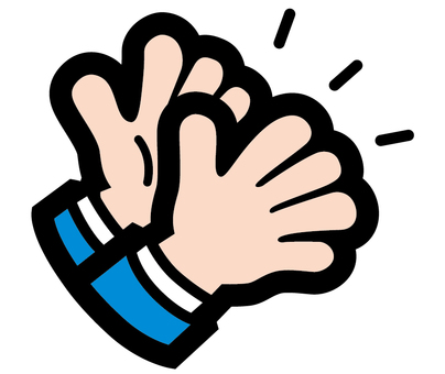 ac extreme hand sign business clapping