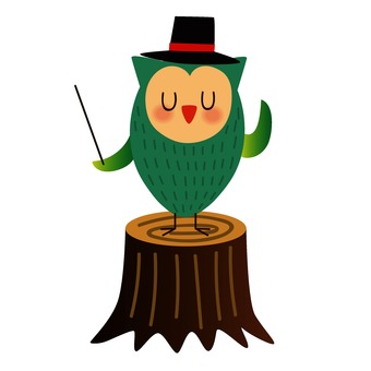 Owl of conductor