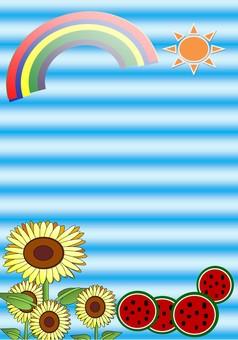 Summer vacation (sun)