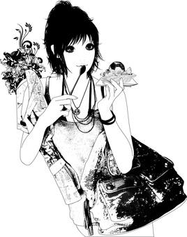 Female illustration 25