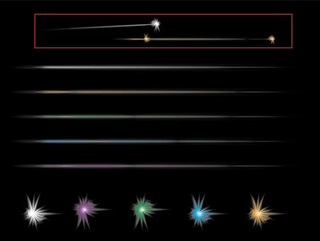 Laser 5 colors