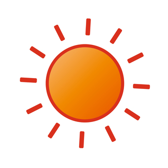 "Weather icon ""Sun"""