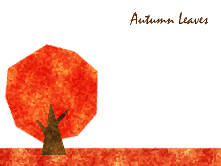 Autumn maple maple maple red tree tree