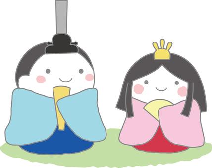 Season Doll Festival (Hina dolls)