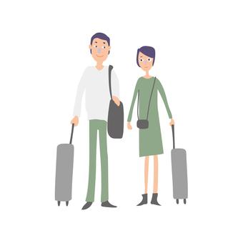 Family couple trip 1