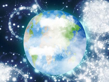 Glittering Earth