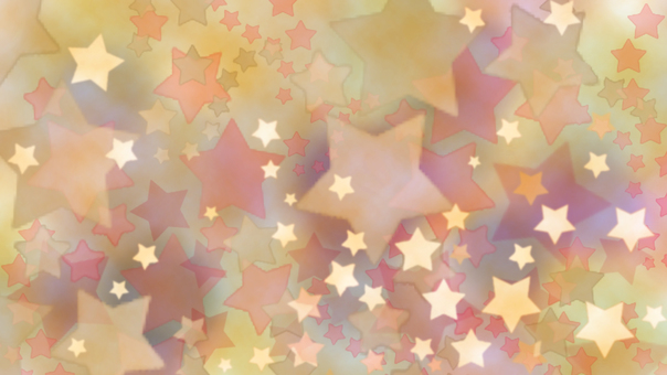 Watercolor style star pattern background