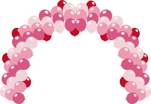 Balloon Arch Pink