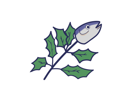 Setsubun sardine head
