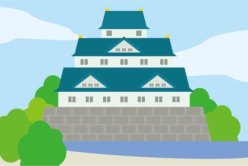 風景 日本のお城