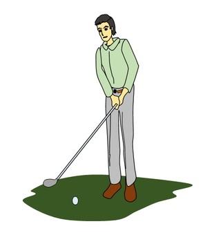 I am in golf.