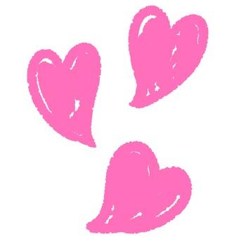 Hand-drawn heart 3