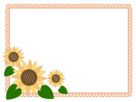 Sunflower card 1