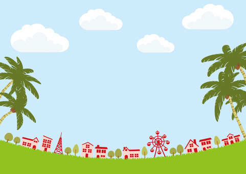 Townscape in Tropical