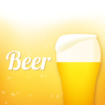 Beer image pop