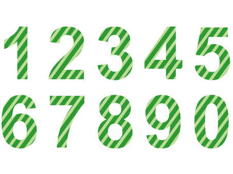 Numbers (green)