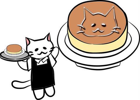 Nyanko cafe pancake
