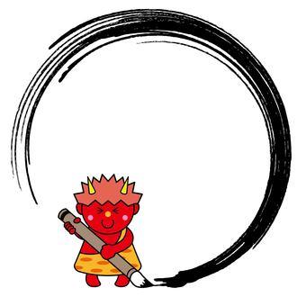 惡魔23_05(紅色煙囪,刷子,框架)