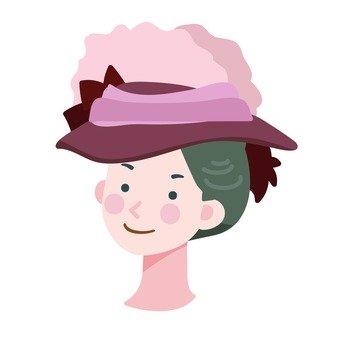드레스 모자