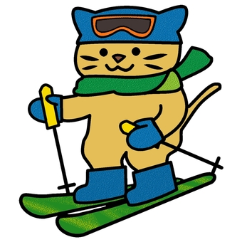 Ski cat color