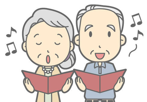 Elderly couple - Chorus - Bust