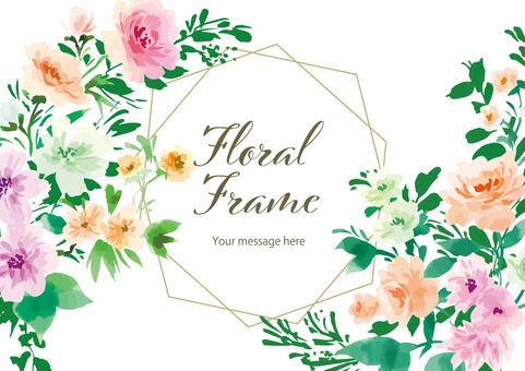 Floral frame5