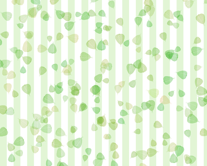 Leaves and stripes background 1