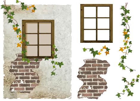 Antique wall illustrations