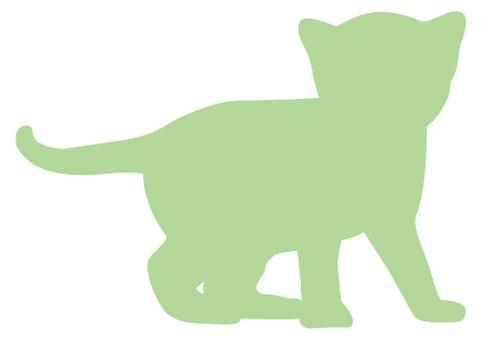 Cat's silhouette 28