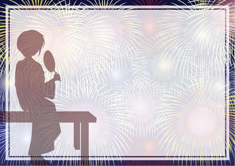 Fireworks Frame - 3