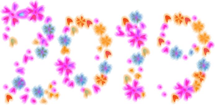 2019 꽃