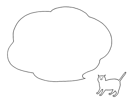 Cat and balloon ➊