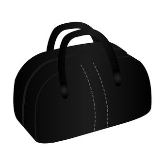 Boston bag (black)