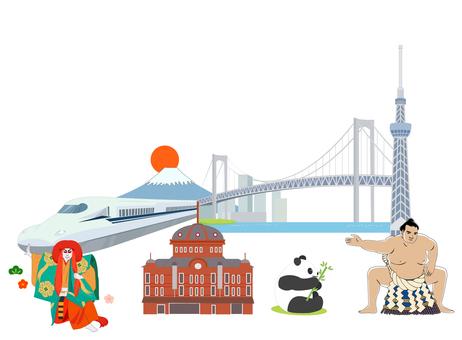Tokyo sightseeing landmark