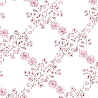 【圖案】手繪花卉4