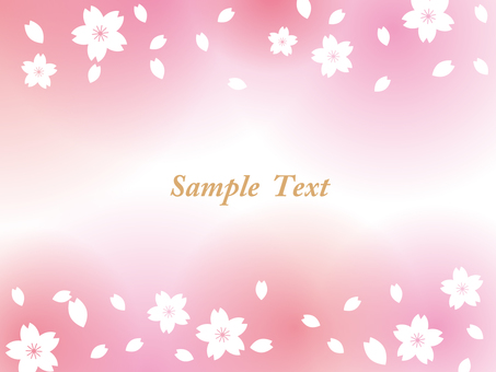 Spring background frame 01