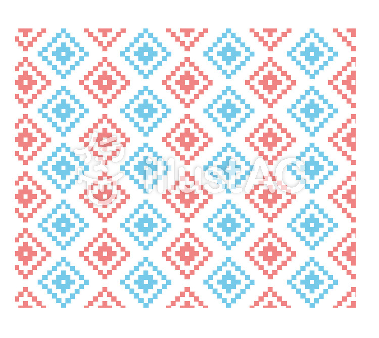ネイティブ柄 パターンのイラスト