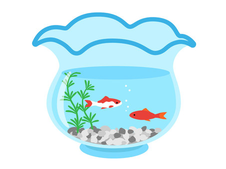 Fish bowl (gravel, Wadikin)