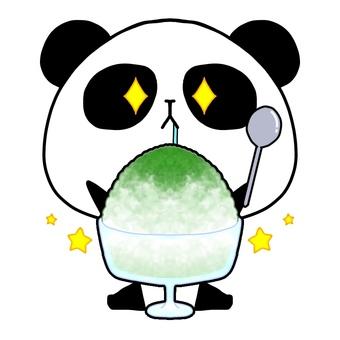 팬더 빙수