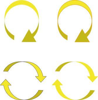 Arrow (curved arrow)