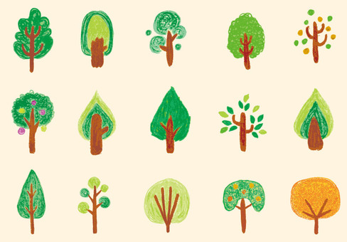 Various trees 01