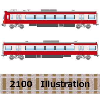 Series 2100 train Keihin Express