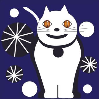 Smiling cat 3 200 × 200 mm