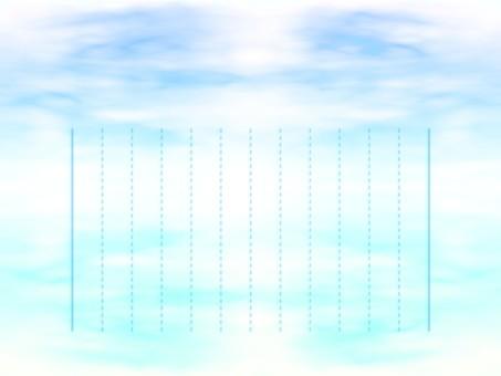 Vertical writing stationery E0592